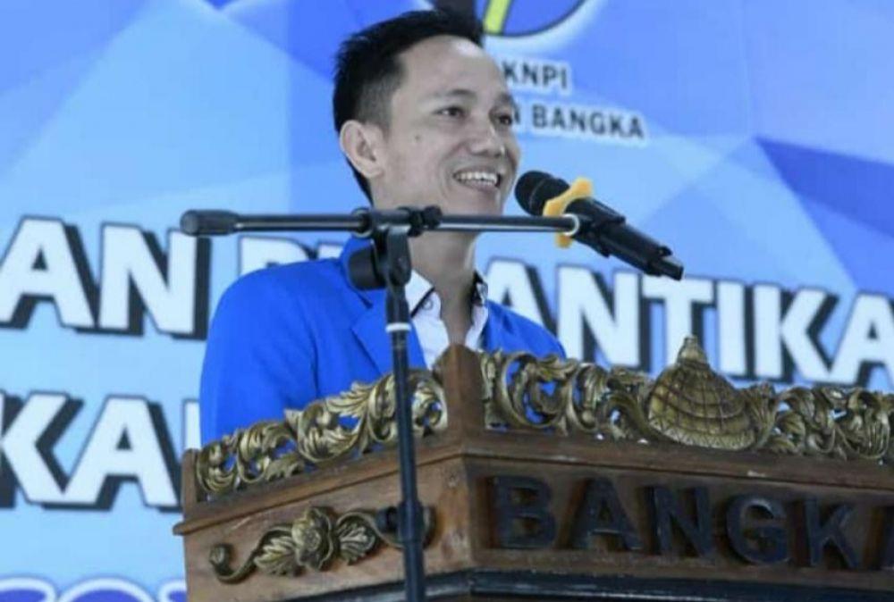 Irham Minta DPD KNPI Bangka Inventarisir Aset