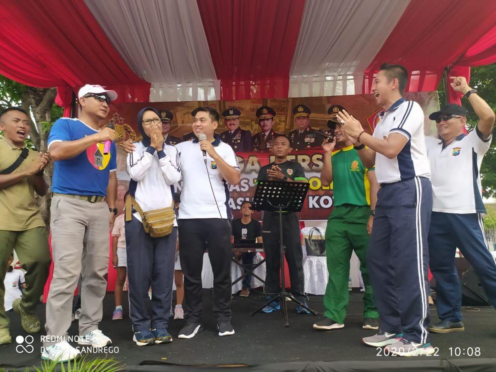 Olah Raga Bersama Dalam Meningkatkan Sinergitas TNI dan POLRI