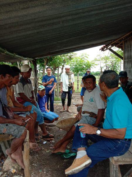 Kadistan Turun Sambangi Petani Di Desa Penyaring
