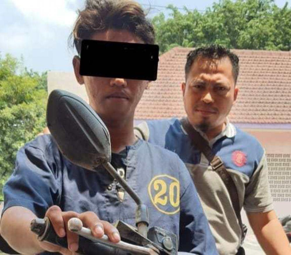 Satu Dari Komplotan Maling Motor Ditangkap Polsek Kenjeran Surabaya