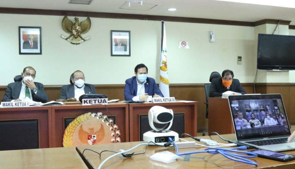 LaNyalla Minta Senator Pantau Sebaran Produk Inovasi Covid19 di Daerah