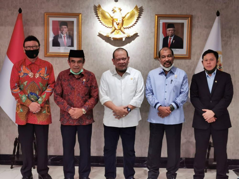DPD RI Tuntaskan Aspirasi 9 Rektor IAIN Dengan Menag Dan Menpan-RB