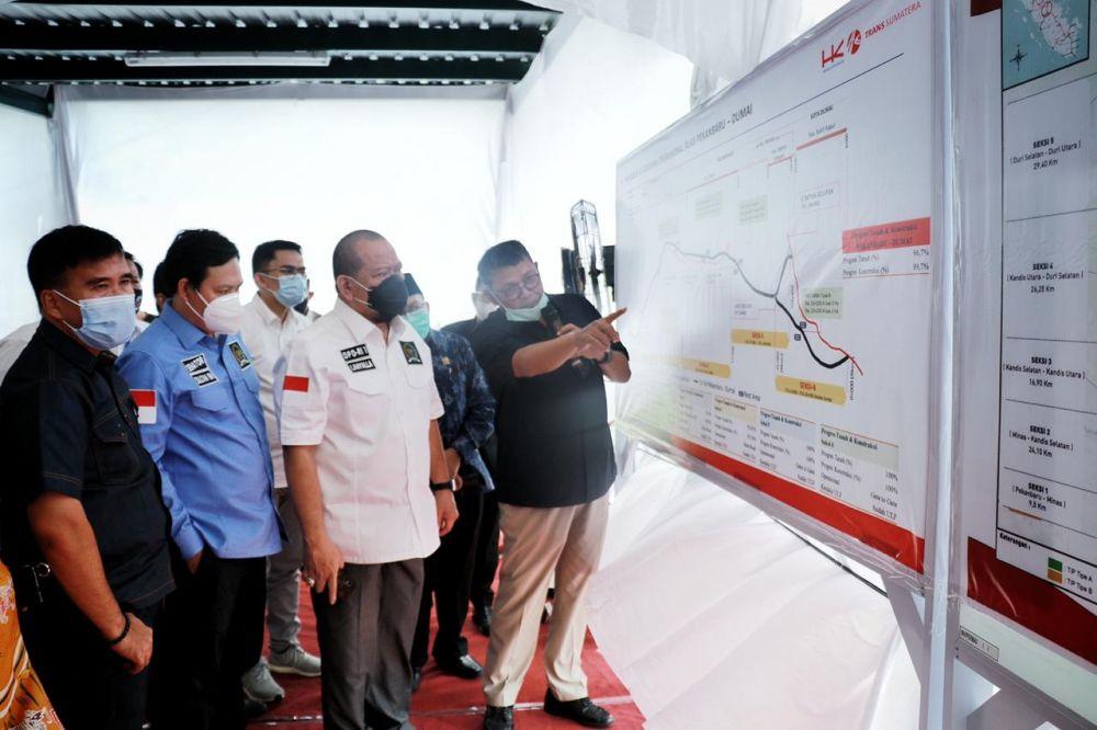 Ketua DPD RI Minta PHR Fokus Pada Tenaga Kerja Dan Kerjasama Pemda