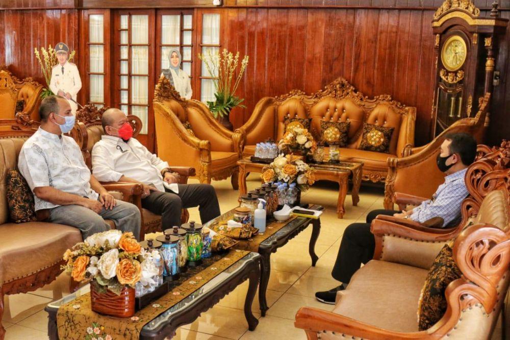 LaNyalla Kunjungi Nganjuk, Pantau Implementasi Perpres 80 Tahun 2019