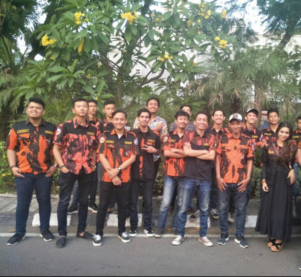 SAPMA Pemuda Pancasila Surabaya Siap Memenangkan Eri-Armuji