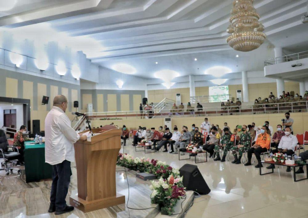Ketua DPD RI, AA LaNyalla Tekankan Kerukunan Warga Sulut Saat Pilkada