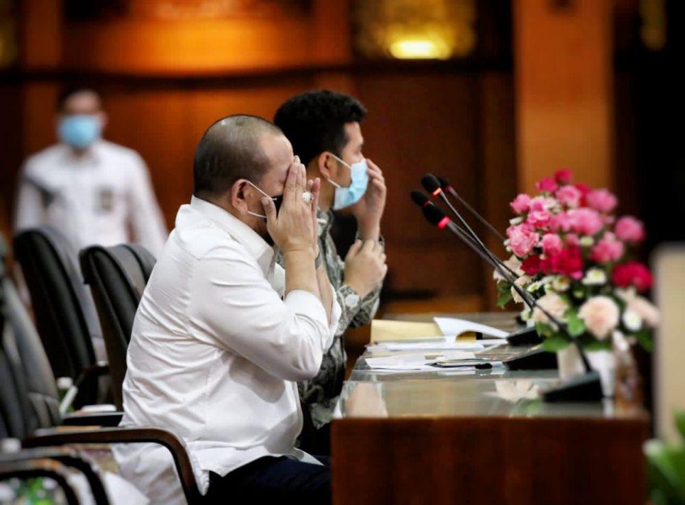 Ketua DPD RI, AA LaNyalla Doakan Surya Paloh Segera Sembuh