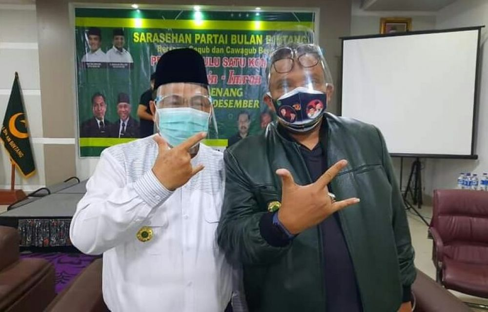 Partai Bulan Bintang Optimistis Agusrin-Imron Menangi Pilgub Bengkulu