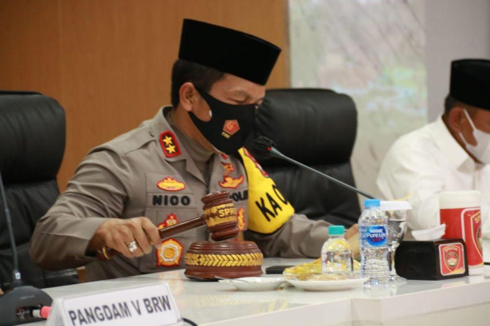 Kapolda Jatim Membuka Secara Langsung Lomba MTQ XIV Kapolda Cup