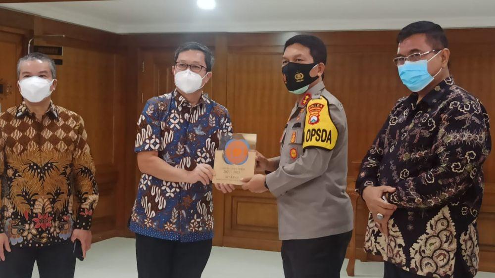 Cegah Mafia Tanah, DPD REI Koordinasi dan Sinergi Bersama Polda Jatim