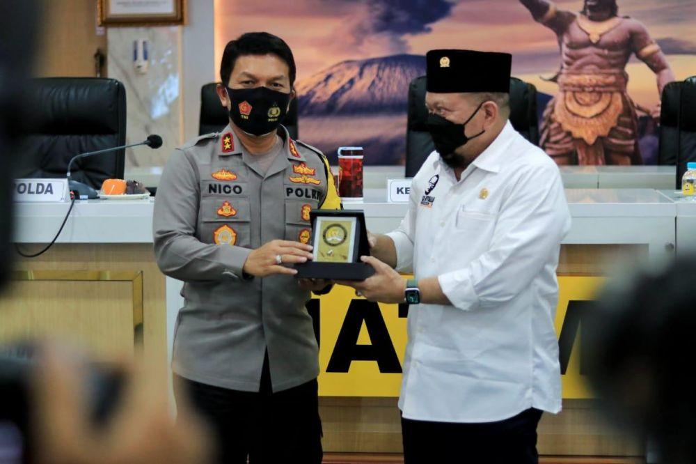 Ketua DPD RI, AA LaNyalla  Minta Polri Percepat Waktu Ungkap Kasus
