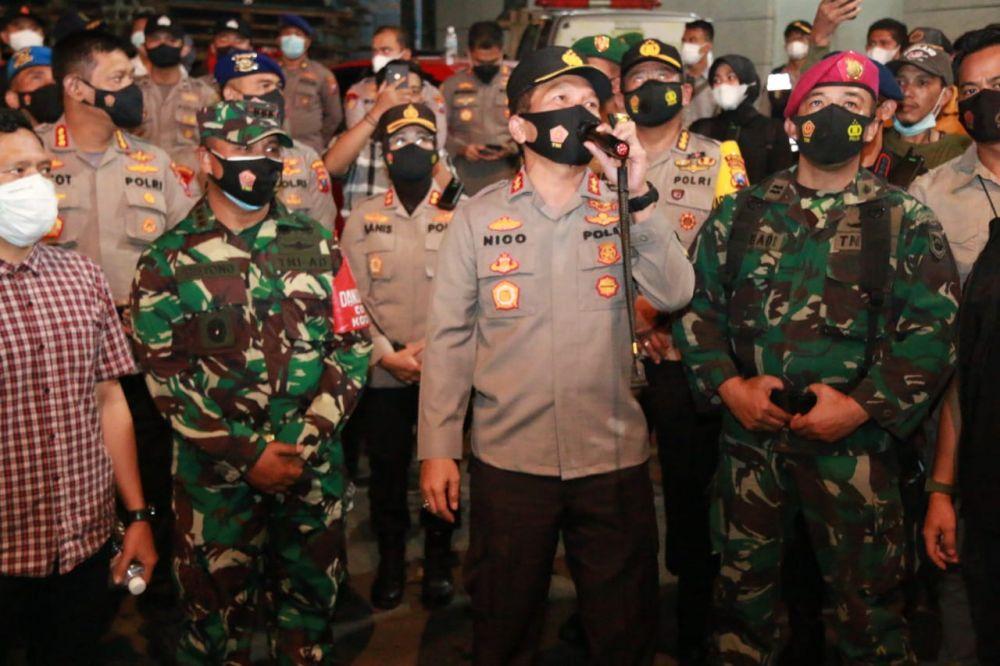 Kapolda Jatim Kawal Kepulangan Ribuan Kader HMI Di Tanjung Perak