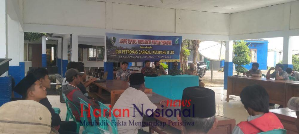 Sosialisasi CSR Petronas Carigali Ketapang II LTD dI Kec. Sokobanah