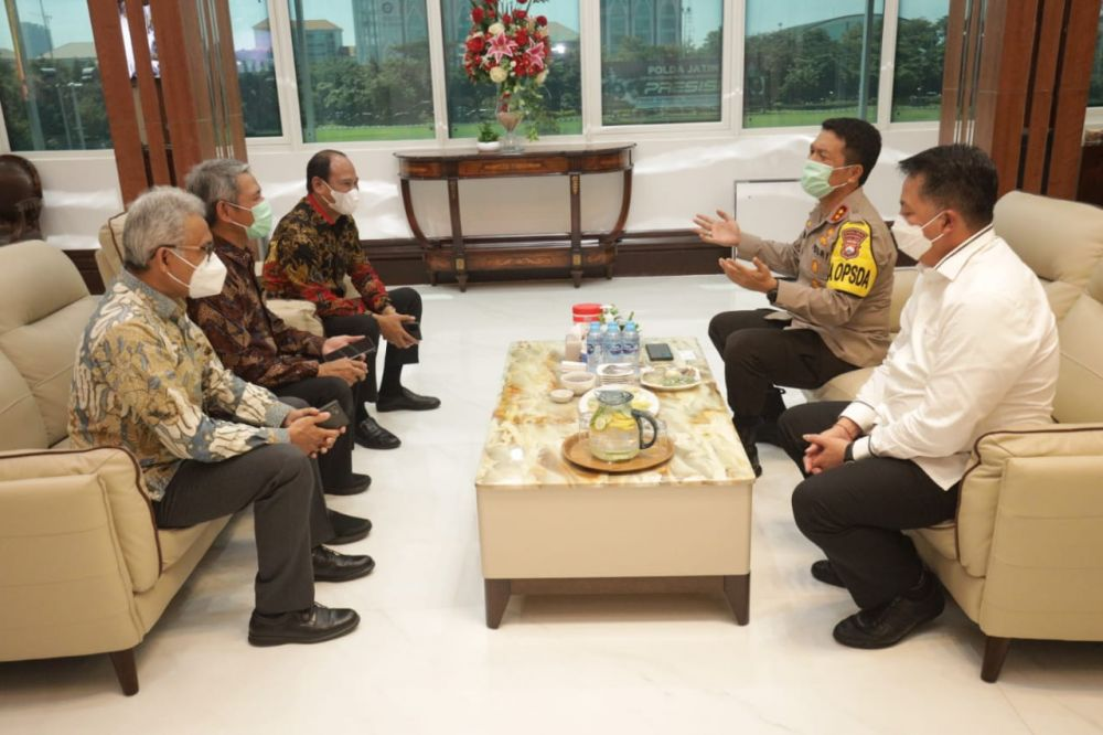 Kapolda Jatim Sambut Audiensi PT. Semen Indonesia