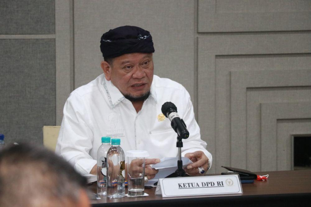 Ketua DPD RI Minta Kepala Daerah Percepat Realisasi Anggaran