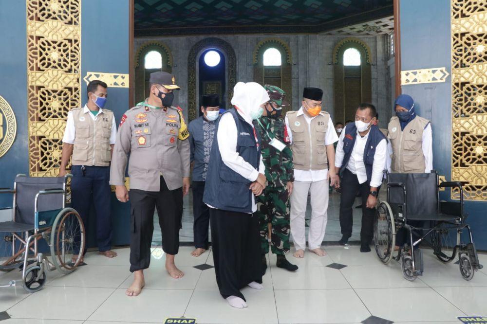 Forkopimda Jatim Cek Kesiapan Masjid Al-Akbar Gelar Sholat Idul Fitri
