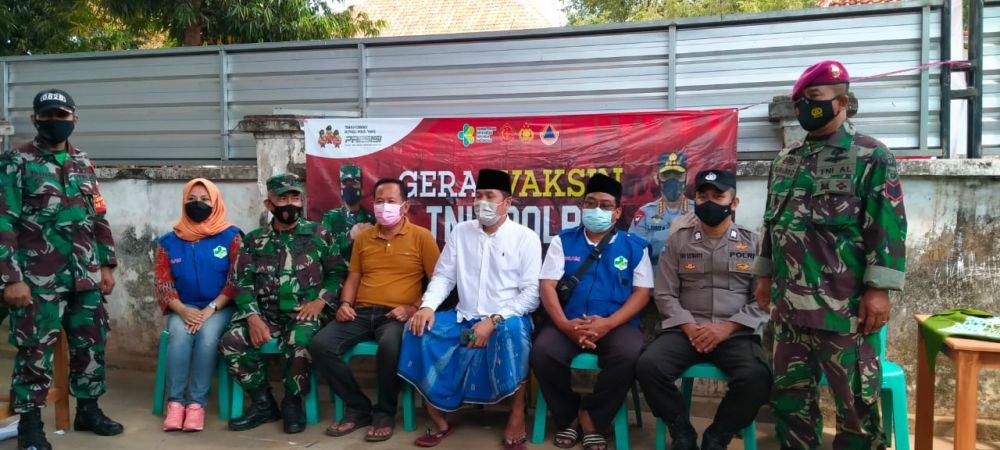 Satgas Covid-19 Kecamatan Sokobanah Giat Vaksinasi di Desa Bira Timur
