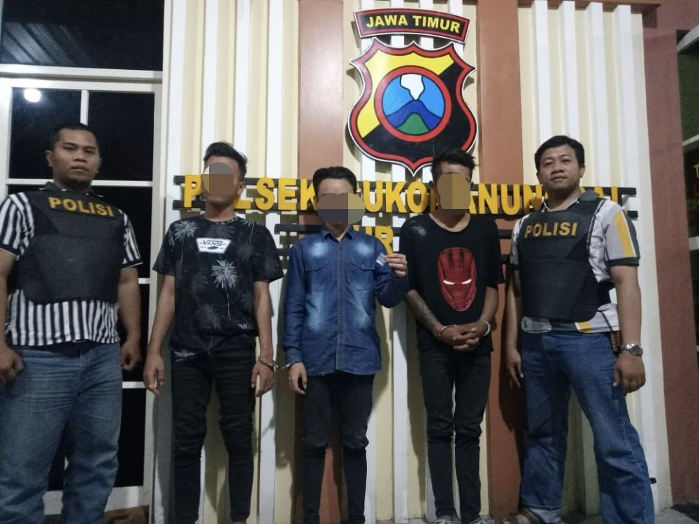 Gara Gara Sabu Jalan Kunti Surabaya Tiga Pemuda Masuk Bui