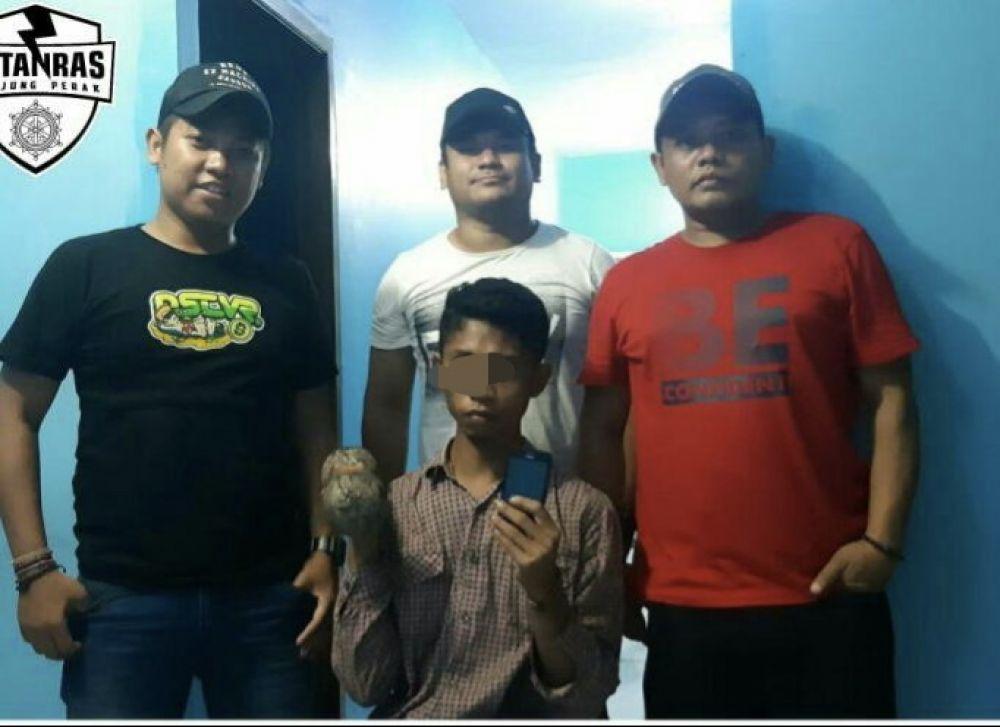 Terekam CCTV, Maling HP di GSN Surabaya Ditangkap Polisi