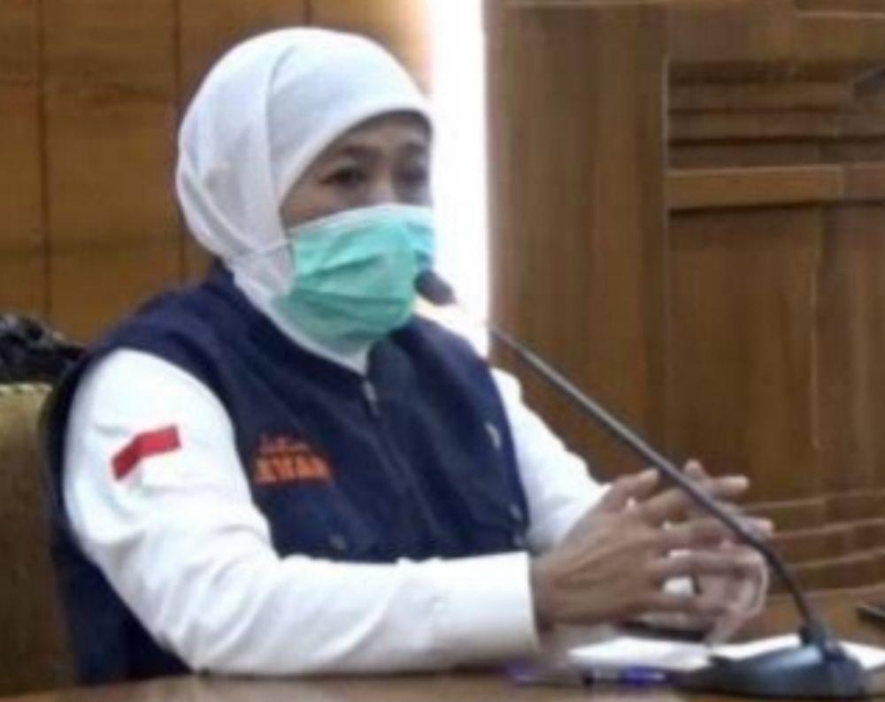 Khofifah Izinkan Sholat Ied  di Masjid, IDI Sarankan Batalkan Izin