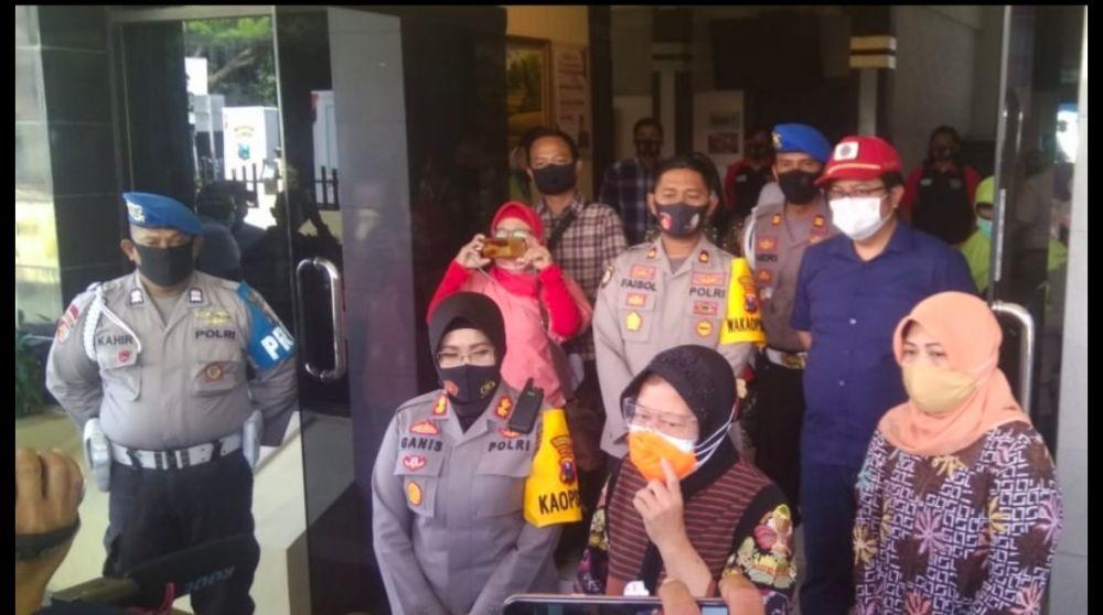 Empat Bocah Korban Pencabulan Menjadi Atensi Walikota Surabaya