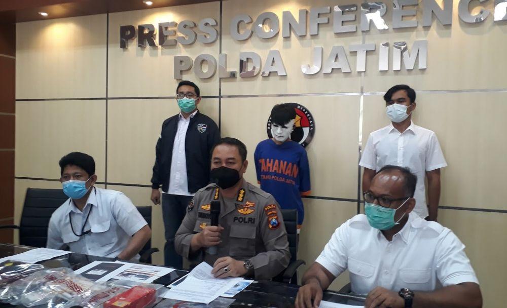 Pembobol Situs KPU Jember Di Amankan Ditreskrimsus Polda Jatim