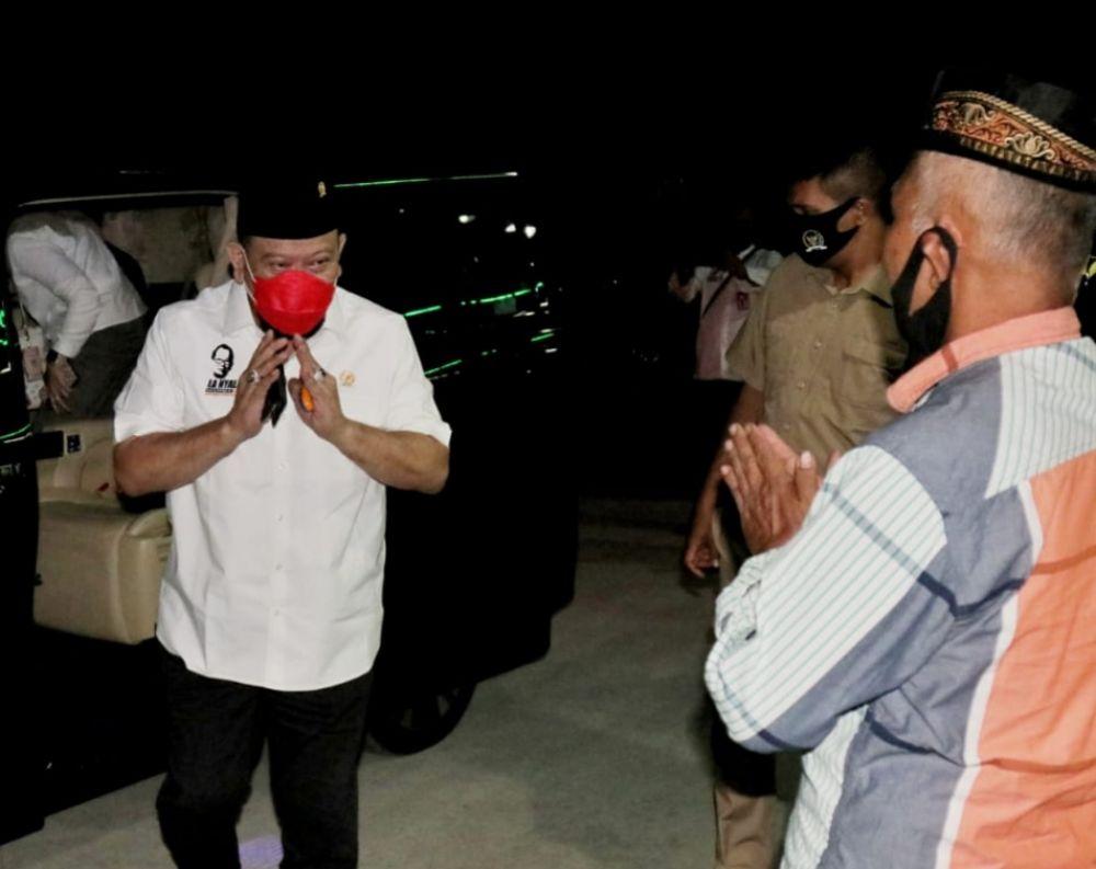 Ketua DPD RI LaNyalla Keliling Ponpes Pantau Pelaksanaan Prokes