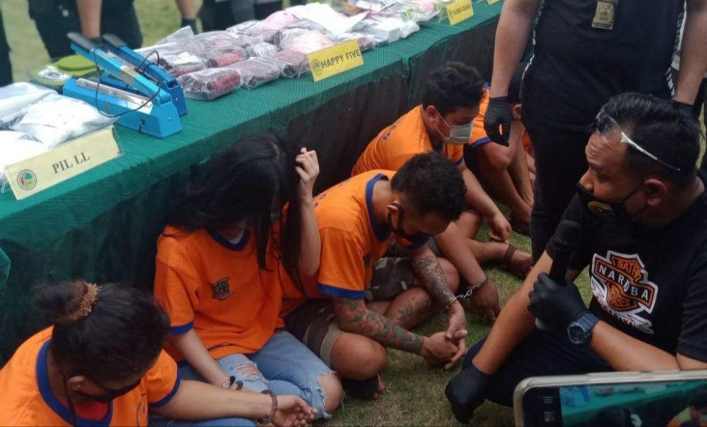 Sat Reskoba Polrestabes Surabaya Amankan 9 kg sabu, 17 ribu happy five