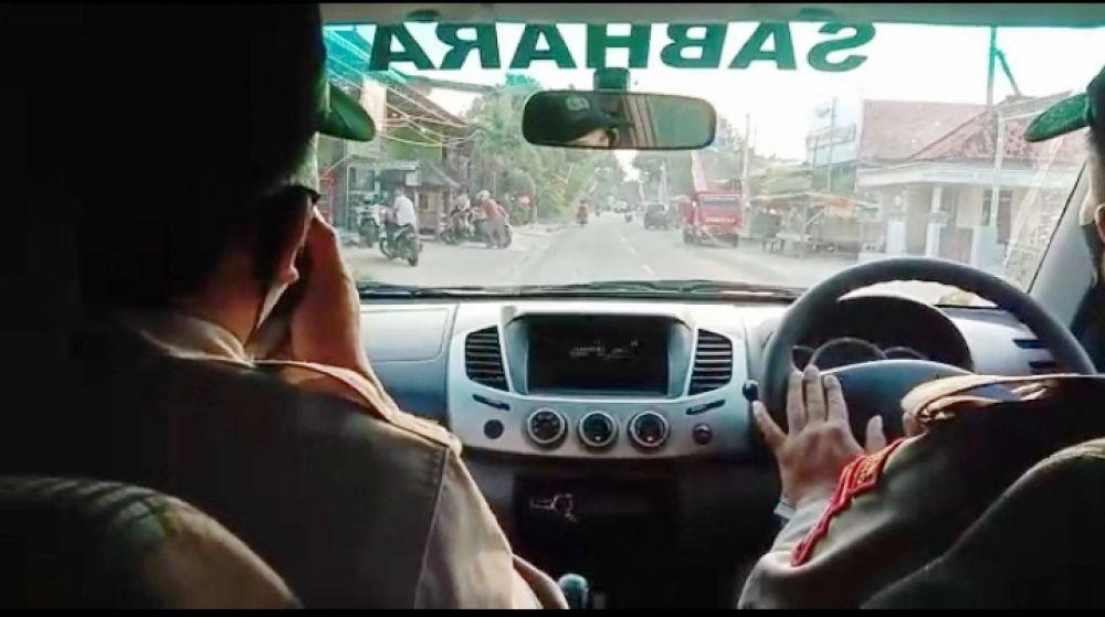 Polsek Banyuates Giat Patroli Ramadhan Guna Pencegahan Covid-19