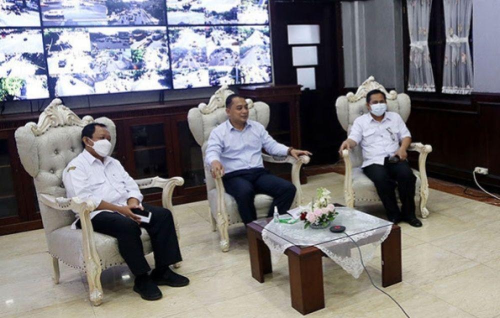 Walikota Surabaya Revisi Kebijakan Karantina Untuk Atlit Jatim  PON XX