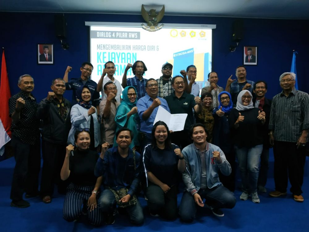 Pengurus IKA Stikosa AWS Periode 2019 - 2023 Disahkan