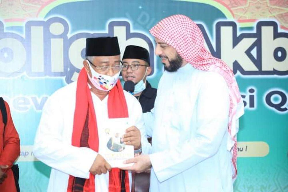 Ali Ibrahim Akan Jadikan Kelurahan Tomalou Pusat Penghafal Alquran