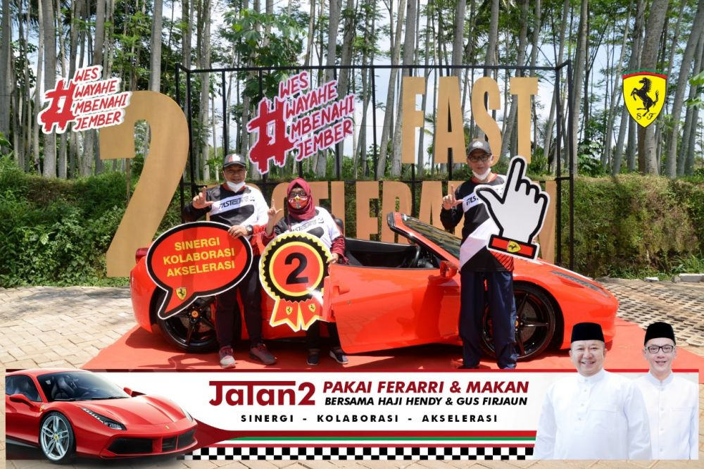 2 Fast Acceleration, City Tour Unik Bareng Hendy Siswanto