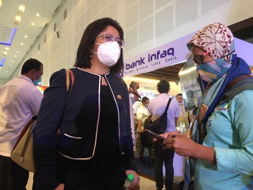 Senator Borong Produk UMKM di Pameran INAPRO Expo 2020