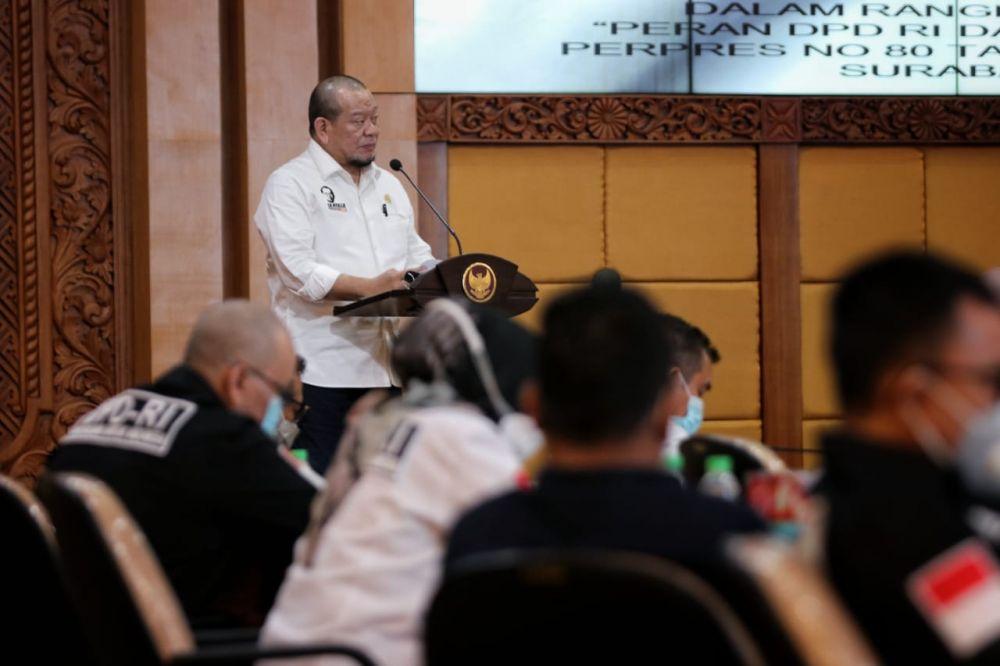 Ketua DPD RI Desak Pemda Bangun Kembali Sekolah Yang Ambruk di  Ciamis