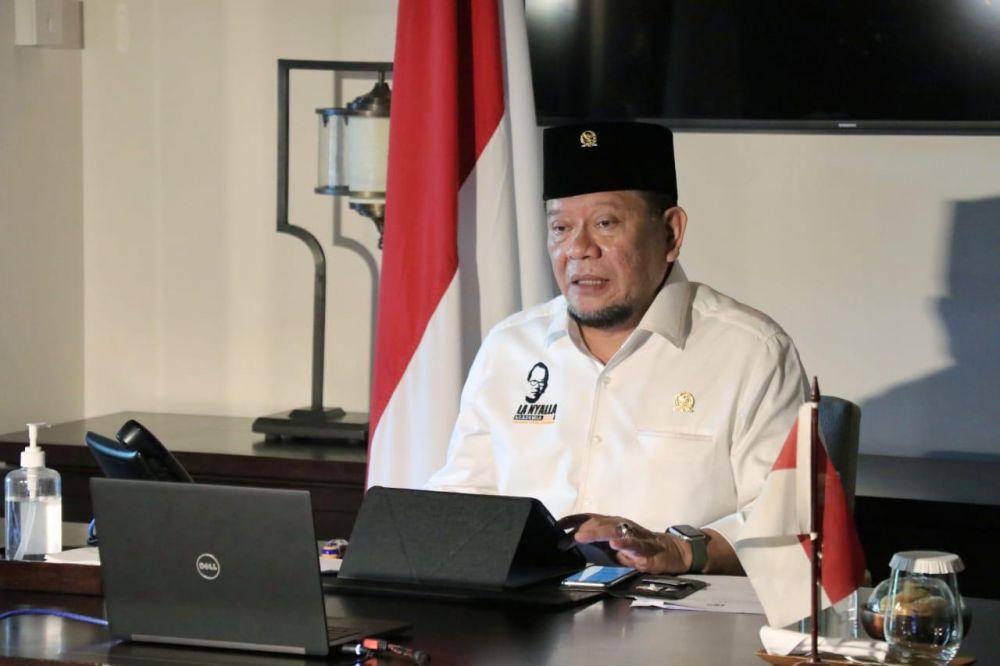 Ketua DPD RI LaNyalla Minta Data Penerima BPNT Tuban Dicek Ulang