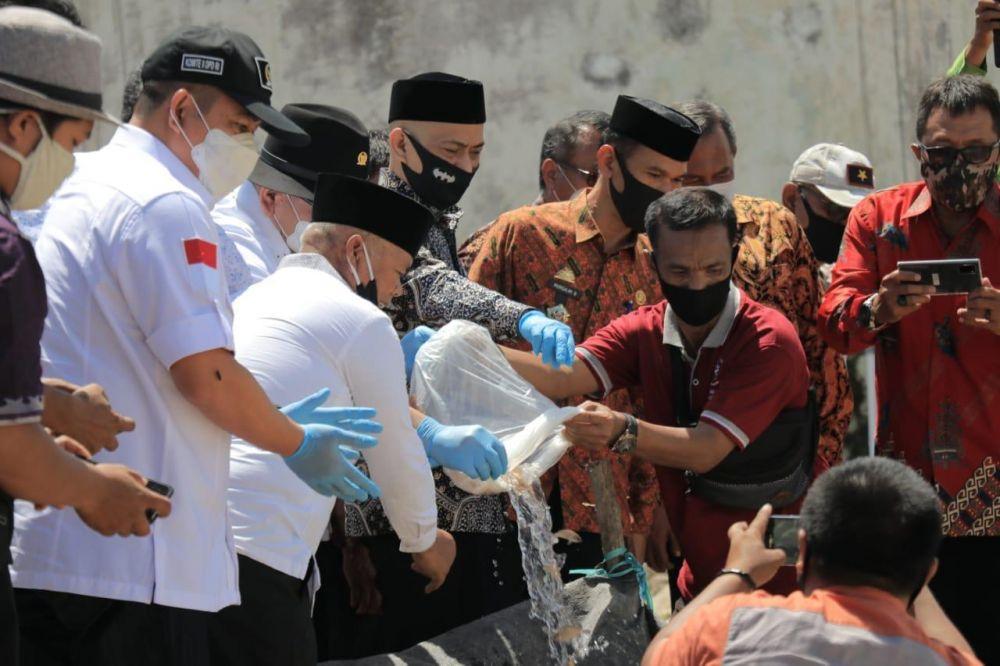 Ketua DPD RI Dorong Pembudidaya Ikan Genjot Produksi