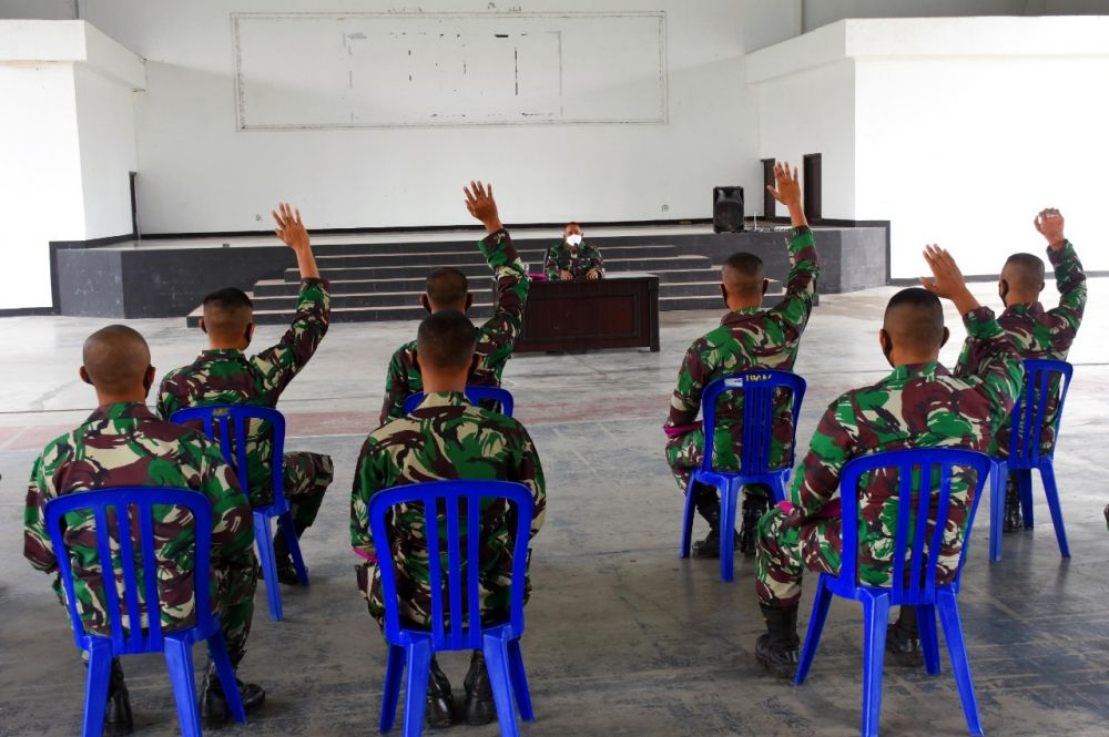 Prajurit Remaja Resmi Masuk di Jajaran Resimen Artileri 2 Marinir