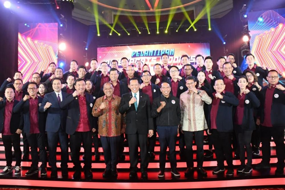 Bamsoet Dilantik Jadi Dewan Pembina E-Sport Indonesia Bersama Sandiaga