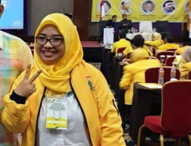 Survei Etos Indonesia, Ade Puspita Calon Terkuat Ketua DPD Golkar