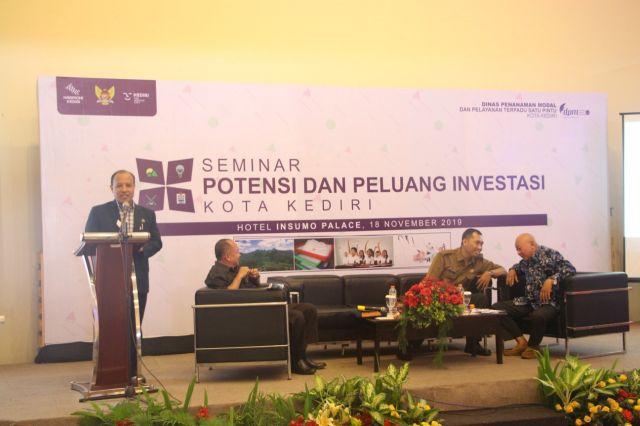 Tim Ahli KADIN Jatim Beberkan Potensi & Peluang Investasi Kota Kediri
