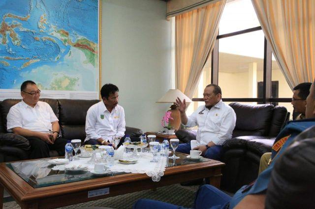 Ketua DPD RI LaNyalla: Perluasan Hang Nadim, Libatkan Pengusaha Lokal