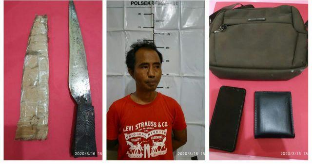 Jambret Dan Pembacokan di Jatisrono Surabaya Ditangkap Polisi