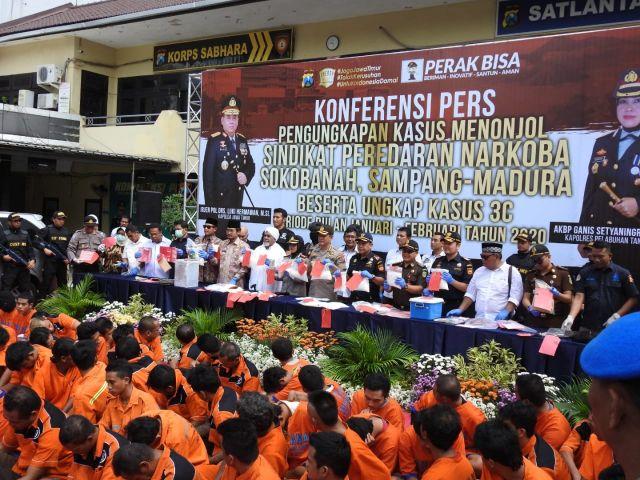 Kasus Menonjol di Polres Tanjung Perak Masih Didominasi Narkoba