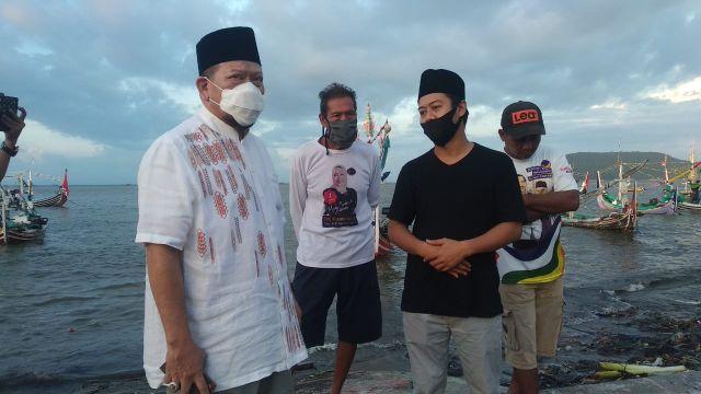 Ketua DPD RI, AA LaNyalla Mahmud Mattalitti Kunjungi Nelayan Muncar