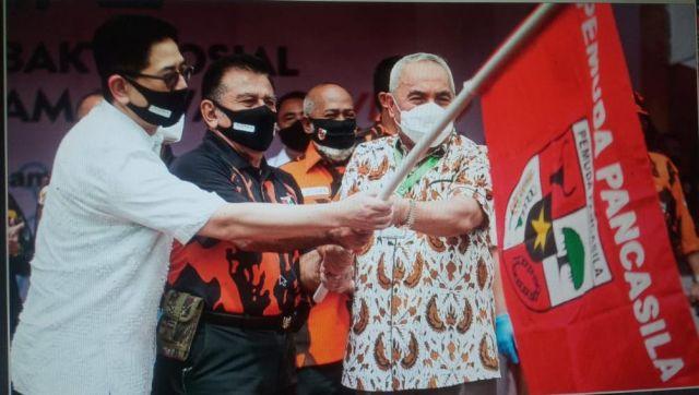 Pemuda Pancasila - Indika Foundation Dan Gubernur Kaltim Lepas Relawan