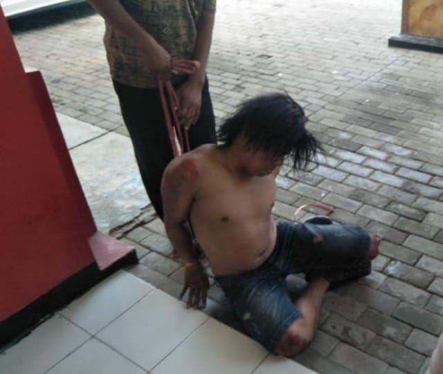 Maling Motor Di Kedung Mangu Timur Surabaya Nyaris Tewas Dihajar Warga
