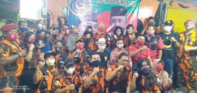 PP Surabaya Bersama PDIP Dan PBB Konsolidasi Pemenangan Eri - Armuji