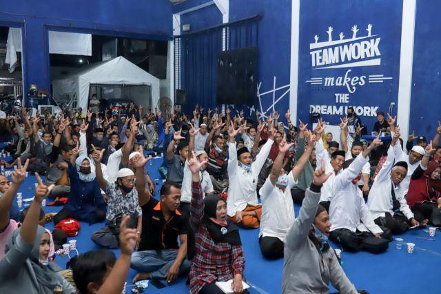 Calon Bupati Jember, Haji Hendy Kumpulkan Kordes Militannya