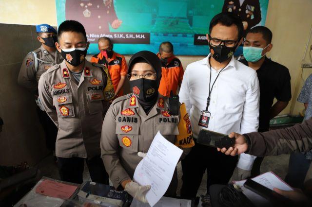 Polres Tanjung Perak Surabaya Bongkar Sindikat Pemalsuan Rapid Test